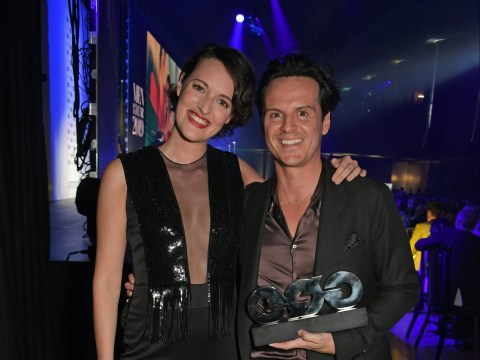 Phoebe Waller-Bridge reunited with Fleabag's Hot Priest Andrew Scott at GQ Men of the Year Awards 2019