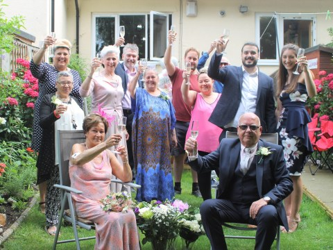 Bride, 70, diagnosed with terminal cancer gets married in a surprise wedding