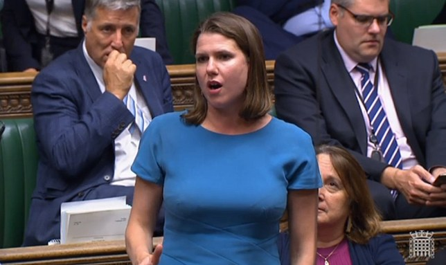 MP tells Jo Swinson to 'sit down love' (Picture: UK Parliament)