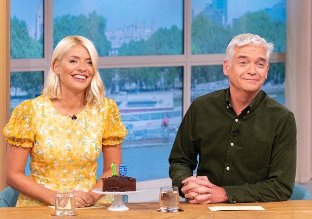 Holly Willoughby and Phillip Schofield host ITV show This Morning