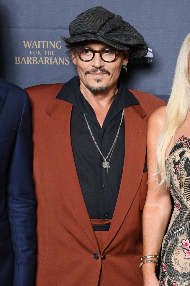 "VENICE, ITALY - SEPTEMBER 05: Johnny Depp attends the Honoring Dinner for ""Waiting for the Barbarians"" during the 76th Venice Film Festival at Centurion Palace on September 05, 2019 in Venice, Italy. (Photo by Daniele Venturelli/WireImage,)"