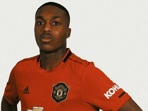 Academy prospect Deji Sotona unveiled as Manchester United's quickest player