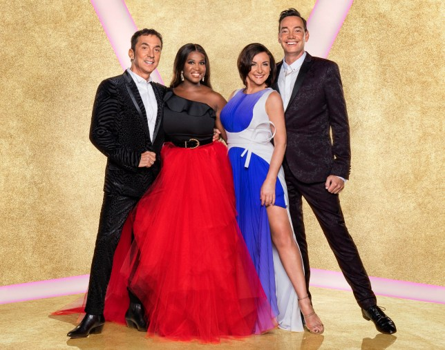 EMBARGOED TO 0001 SATURDAY SEPTEMBER 7 For use in UK, Ireland or Benelux countries only Undated BBC handout photo of the judges for BBC's Strictly Come Dancing, (left to right) Bruno Tonioli, Motsi Mabuse, Shirley Ballas, Craig Revel Horwood. PA Photo. Issue date: Saturday September 7, 2019. Photo credit should read: Ray Burmiston/BBC/PA Wire NOTE TO EDITORS: Not for use more than 21 days after issue. You may use this picture without charge only for the purpose of publicising or reporting on current BBC programming, personnel or other BBC output or activity within 21 days of issue. Any use after that time MUST be cleared through BBC Picture Publicity. Please credit the image to the BBC and any named photographer or independent programme maker, as described in the caption.