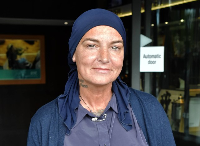 Sinead O'Connor & her son Shane Lunny spotted at RTE ahead of tonight's Late Late Show, Dublin, Ireland - 06.09.19. Featuring: Sinead O'Connor Where: Dublin, Ireland When: 06 Sep 2019 Credit: WENN.com **Not available for publication in Ireland**