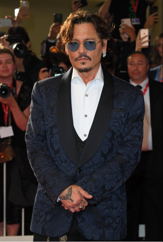 Mandatory Credit: Photo by David Fisher/REX (10403322g) Johnny Depp 'Waiting for the Barbarians' photocall, 76th Venice Film Festival, Italy - 06 Sep 2019
