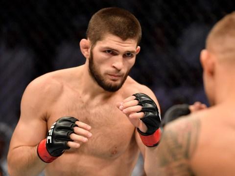 Khabib Nurmagomedov slams Conor McGregor after beating Dustin Poirier at UFC 242