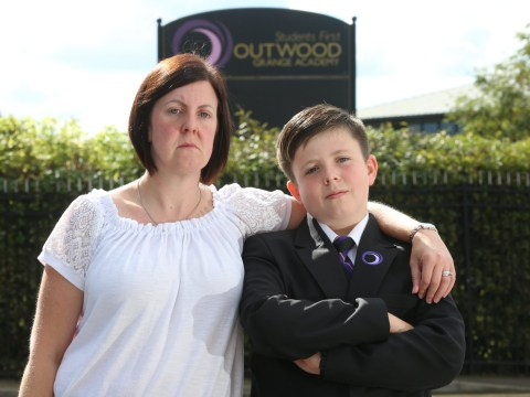 Boy with no school stuck at home after teachers chucked him out on day one