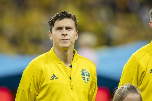 Manchester United defender Victor Lindelof was unhappy with his performance for Sweden