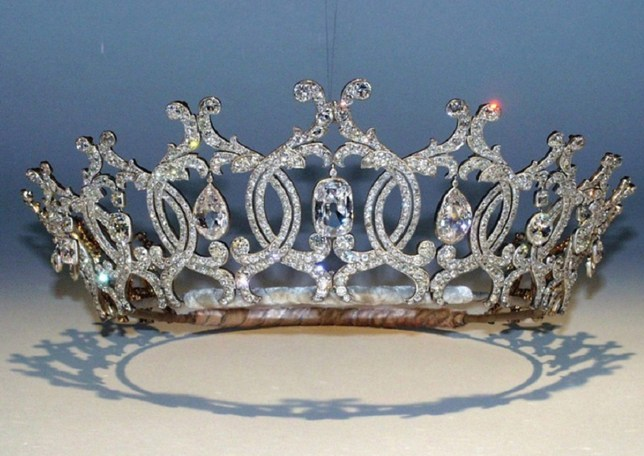 """Undated handout file photo issued by Nottinghamshire Police of The Portland Tiara, which was stolen by three raiders who used specialist diamond cutter tools from the Welbeck Estate on November 20 last year. PRESS ASSOCIATION Photo. Issue date: Monday September 9, 2019. A reward of up to ??100,000 has been offered for information leading to the recovery of the """"national treasure"""" tiara, stolen from the art gallery. See PA story POLICE Tiara. Photo credit should read: Nottinghamshire Police/PA Wire NOTE TO EDITORS: This handout photo may only be used in for editorial reporting purposes for the contemporaneous illustration of events, things or the people in the image or facts mentioned in the caption. Reuse of the picture may require further permission from the copyright holder."""