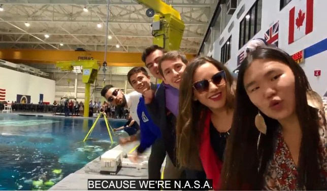 Nasa interns recreate Ariana Grande song and singer loves it so much her 'heart is bursting'