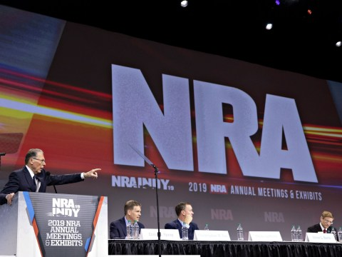 Gun lobby NRA sues San Francisco over 'domestic terrorist organisation' label