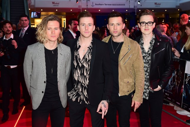 McFly pictured in 2016
