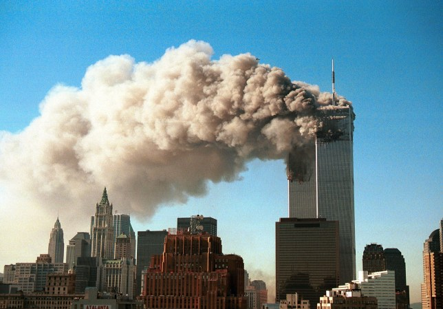 the twin towers on september 11