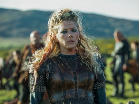 Katheryn Winnick is too excited for Vikings final as she starts one-month countdown to season 6