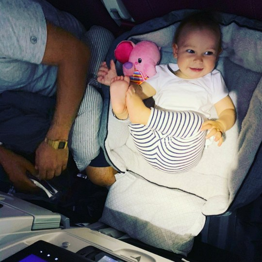 Mum's trick for helping kids to sleep on planes