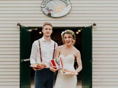 KFC is offering couples chicken-themed weddings