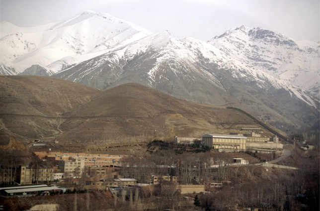 IRAN - FEBRUARY 01: IRAN, TEHRAN , Our picture shows the Evin prison in Tehran and the Elburs mountains. (Photo by Ulrich Baumgarten via Getty Images)