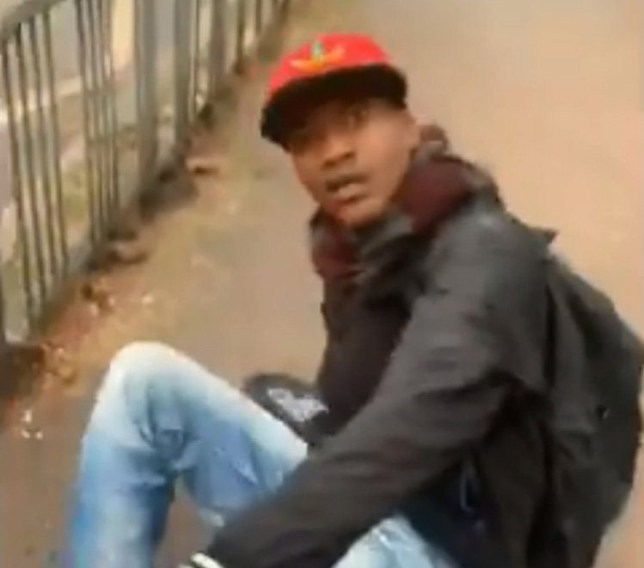 Mobile phone footage. A man has today been jailed for two years and eight months for committing terrifying sexual assaults and unprovoked attacks against two women in Haringey. Mentesnot Cheru, 29, (03.06.1990) of Winchelsea Road, Tottenham, was convicted at Highbury Corner Magistrates Court on Thursday, 27 June after pleading guilty to two counts of sexual assault and possession of cannabis. He was sentenced to two years and eight months custodial sentence and a three year extended licence was imposed, giving a total sentence of five years and eight months. He must serve two thirds of his sentence and there was a finding of dangerousness meaning that he cannot be released until the parole board are satisfied he is safe to do so. At Wood Green Crown Court on Wednesday, 11 September, Cheru was handed the sentence and ordered to sign the sex offenders register for life. Both of the attacks took place on Thursday, 4 April. At approximately 10:20hrs, a 20-year-old woman was walking along Philip Lane, N15 before turning left into Clyde Road behind Tottenham Green Pools and Fitness. She then noticed a man running behind her.