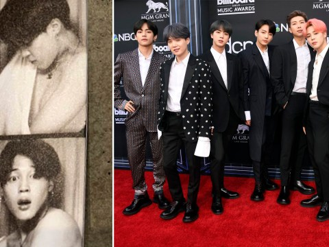 BTS ARMY loses it as Jimin goes shirtless in new photobooth shots