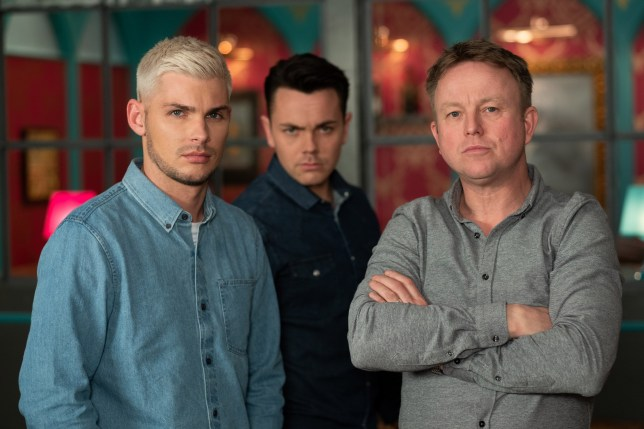 STE AND SAMI FIGHT EMBARGOED UNTIL 30 APRIL