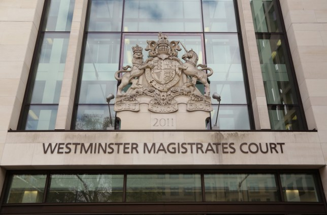 The entrance to Westminster Magistrates' Court in central London, where Navinder Singh Sarao, a British financial trader accused of helping to trigger a multi-billion dollar US stock market crash from the home he shares with his parents, has told the court he will fight plans to extradite him to America during his hearing.