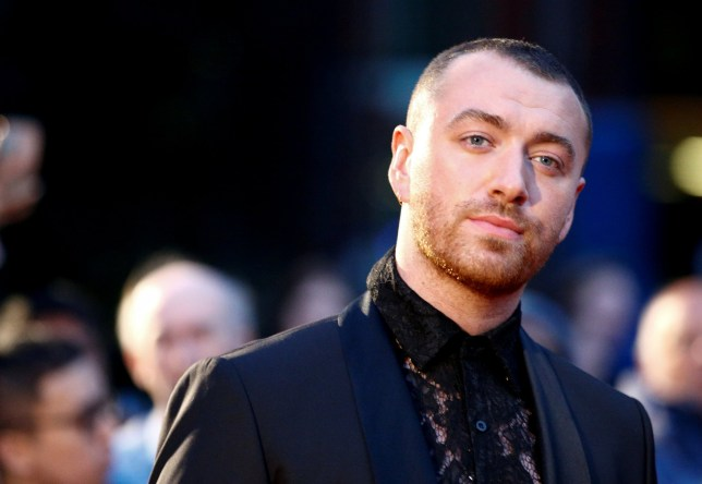 FILE PHOTO: Singer Sam Smith poses as they arrive to the GQ Men Of The Year Awards 2019 in London, Britain September 3, 2019. REUTERS/Henry Nicholls - RC1C1BE53450/File Photo