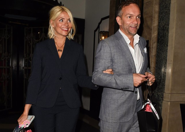 Holly Willoughby and husband Daniel Baldwin