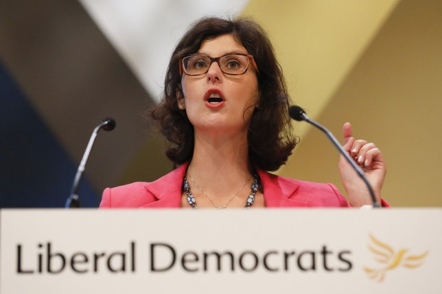 Layla Moran, spokesperson for education for the Liberal Democrat Party, speaks during the party's annual conference in Brighton, U.K., on Tuesday, Sept. 18, 2018. Leader of the U.K.'s Liberal Democrat Party, Vince Cable??hinted that his leadership of the traditional third party of British politics is coming to an end. Photographer: Luke MacGregor/Bloomberg via Getty Images