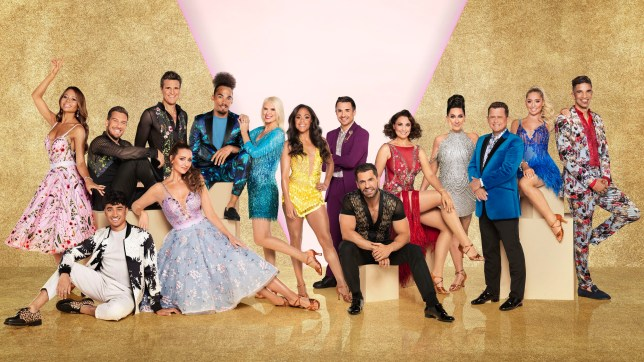 Celebrity lineup of Strictly Come Dancing 2019