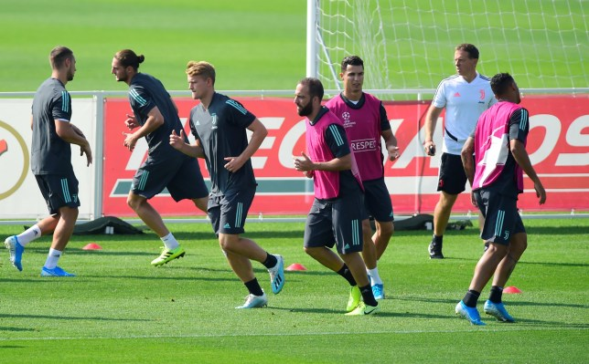 Gonzalo Higuain lashed out in training