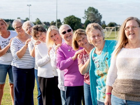 10 women from the same family who all had breast cancer celebrate getting the all-clear with a charity calendar