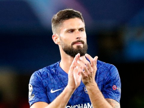 Olivier Giroud struggling with illness ahead of Chelsea's clash with Brighton