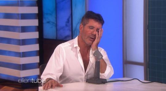 Simon Cowell on Ellen DeGeneres Show