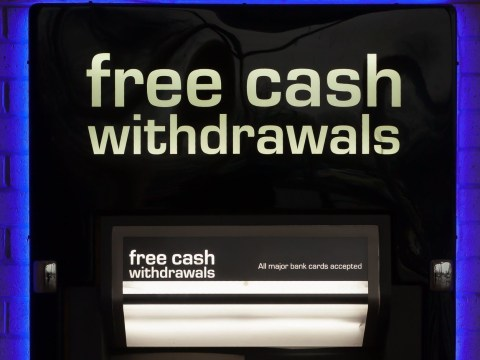Free cash machines vanishing from poorest areas
