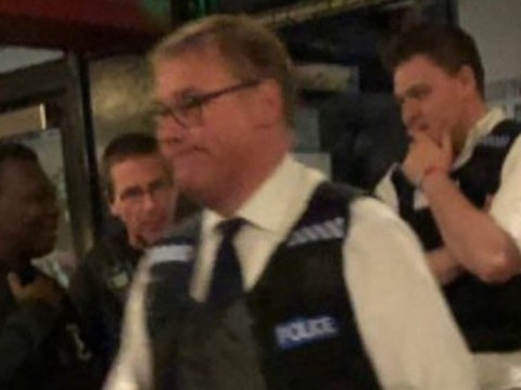 Mark Francois spotted wearing police stab vest in Wetherspoons