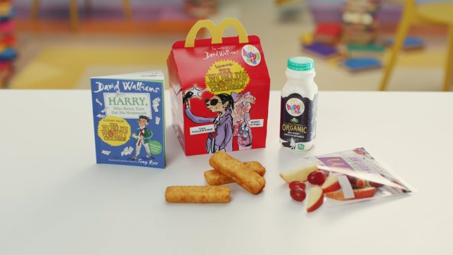 Undated handout photo issued by McDonald's of their new Happy Meal, which will no longer include plastic toys as part of an iniative to cut down on the material. PA Photo. Issue date: Wednesday September 18, 2019. It comes on the same day that Burger King have also announced they are removing all plastic toys from its children's meals in the UK, to save an estimated 320 tonnes of waste annually. See PA story CONSUMER BurgerKing. Photo credit should read: McDonald's/PA Wire NOTE TO EDITORS: This handout photo may only be used in for editorial reporting purposes for the contemporaneous illustration of events, things or the people in the image or facts mentioned in the caption. Reuse of the picture may require further permission from the copyright holder.PA Photo. Issue date: Wednesday September 18, 2019.