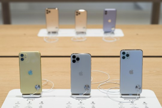Apple will produce four versions this year.