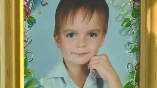 Boy, eight, jumps to his death from ninth-floor apartment in Ukraine Anton