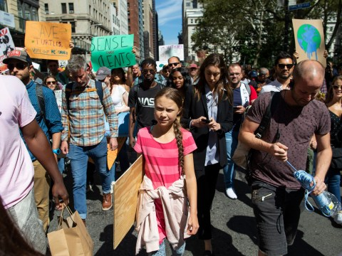 Climate activist Greta Thunberg 'never imagined strikes would take off so quickly'