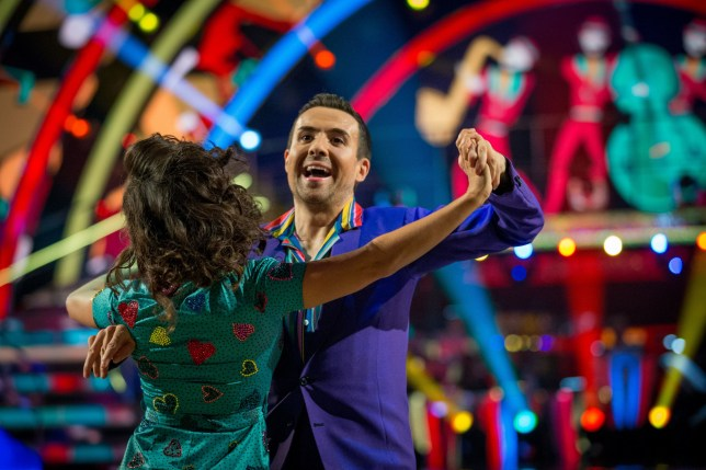 For use in UK, Ireland or Benelux countries only Undated BBC handout photo of Janette Manrara and Will Bayley during BBC1 dance contest, Strictly Come Dancing. PA Photo. Issue date: Saturday September 21, 2019. See PA story SHOWBIZ Strictly. Photo credit should read: Guy Levy/BBC/PA Wire NOTE TO EDITORS: Not for use more than 21 days after issue. You may use this picture without charge only for the purpose of publicising or reporting on current BBC programming, personnel or other BBC output or activity within 21 days of issue. Any use after that time MUST be cleared through BBC Picture Publicity. Please credit the image to the BBC and any named photographer or independent programme maker, as described in the caption.