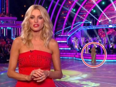 Strictly Come Dancing fans left confused over mysterious-shaped prop left on stage