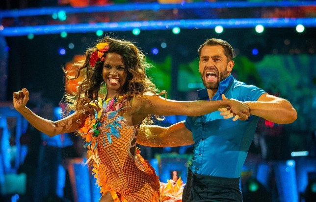 Oti Mabuse and Kelvin Fletcher