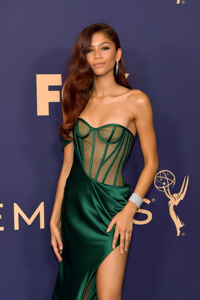 Zendaya at the Emmys