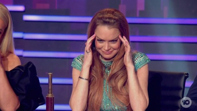 7496413 Lindsay Lohan clueless on Masked Singer