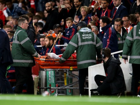 Arsenal star Emile Smith Rowe stretchered off during Nottingham Forest clash