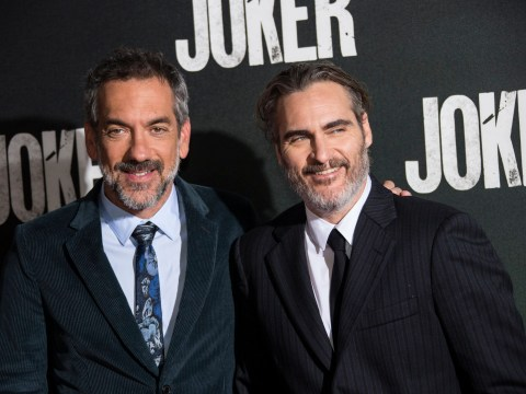 Joaquin Phoenix is all smiles at Joker premiere as he shrugs off controversy