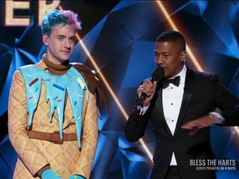 Ninja introduced as 'Twitch superstar' on The Masked Singer after Mixer move as fans cringe