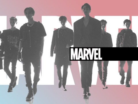 K-pop's SuperM confirm Marvel collaboration as supergroup prepare for debut showcase
