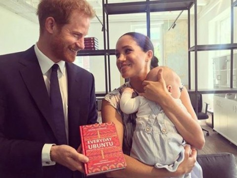 What is the concept of ubuntu which Meghan Markle and Prince Harry said they were moved by?