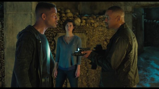 We're seeing double as Will Smith fights himself in brain-bending Gemini Man Videograb from Gemini Man